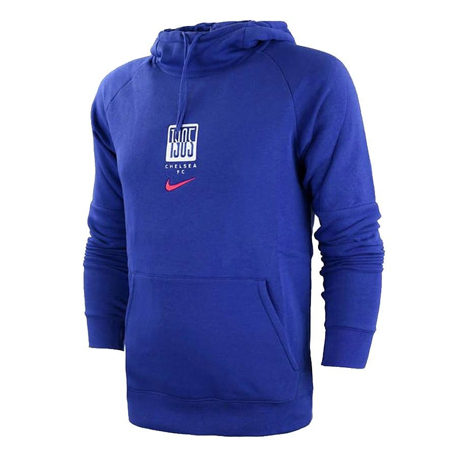 Bluza piłkarska Nike Chelsea FC Fleece  Hoodie CK9363 471