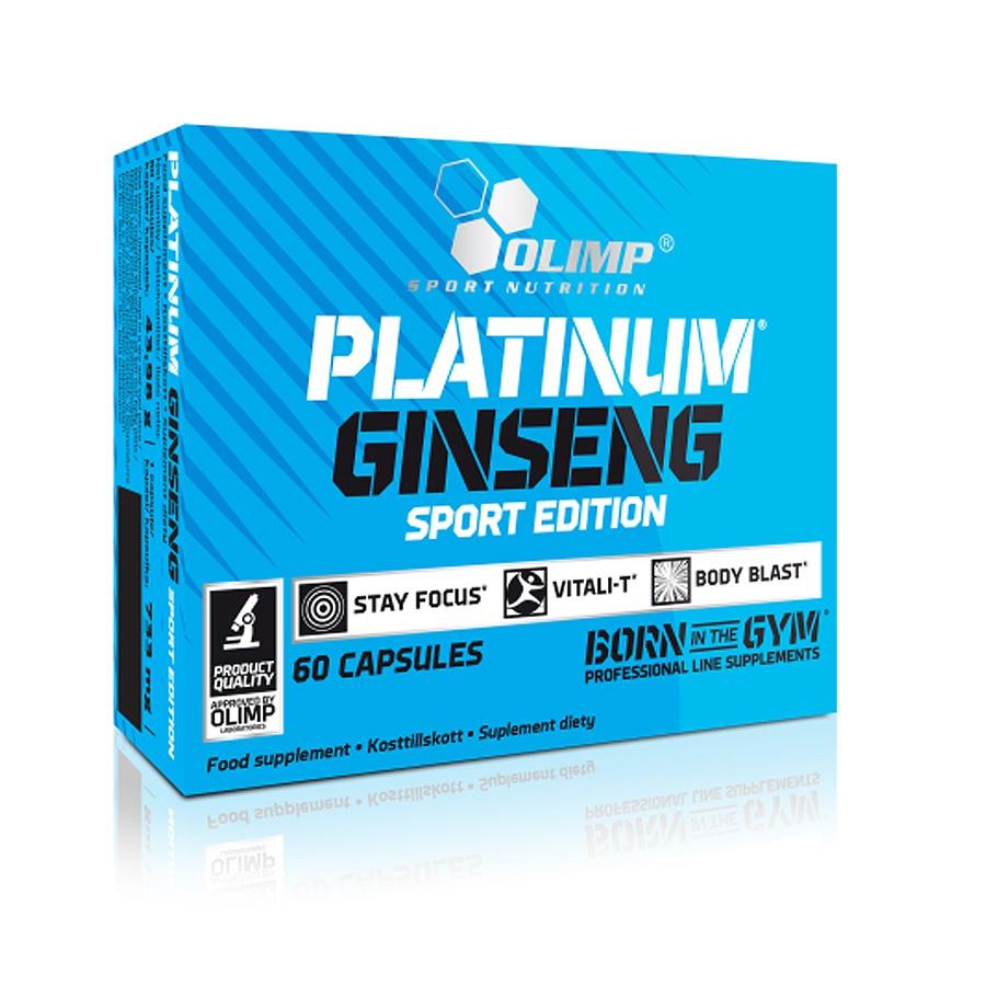 Odżywka Olimp Żeń Szeń Platinum Ginseng 60 kaps