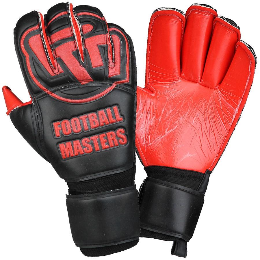 Rękawice FM Black Red Contact Grip RF + płyn czyszczący S424182