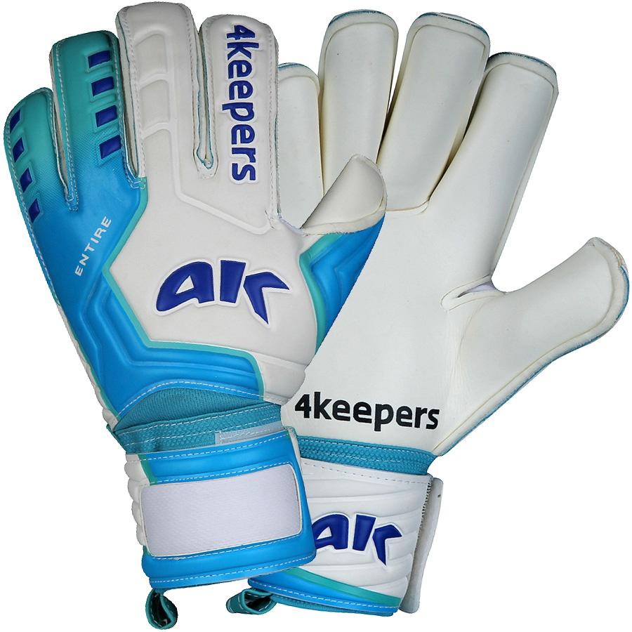 Rękawice bramkarskie 4keepers Entire Pride Roll Finger + płyn czyszczący S427684