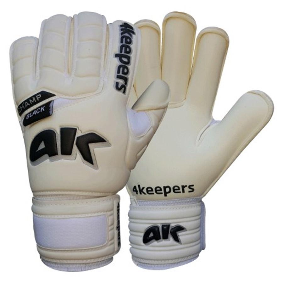 Rękawice 4Keepers Champ Black RF III + płyn czyszczący