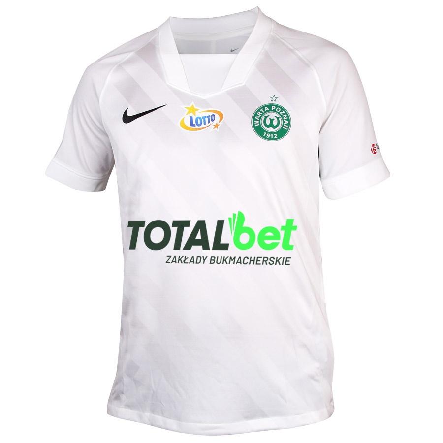 Koszulka meczowa JR Warta Poznań biała  S694529