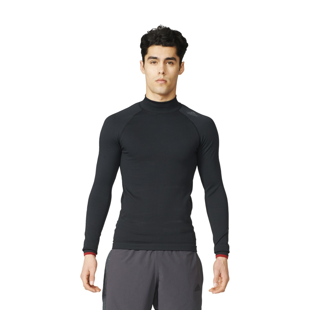 Koszulka adidas Techfit Heat Long Sleeve Mock S94386