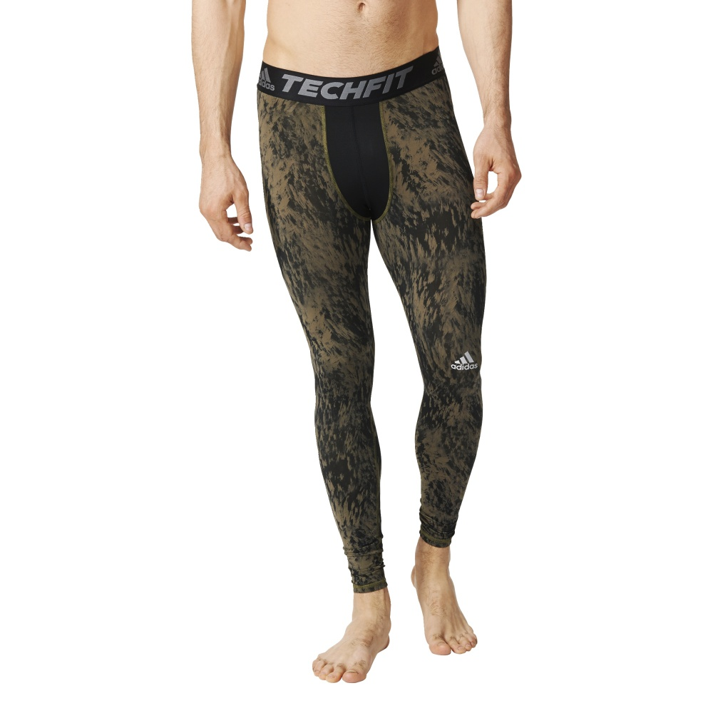 Legginsy adidas Techfit Base Shards Graphic Tight S94430