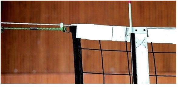 Siatka do siatkówki  profesjonalna z antenkami