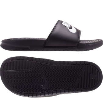 Klapki Nike Benassi Just Do It damskie 343881 015