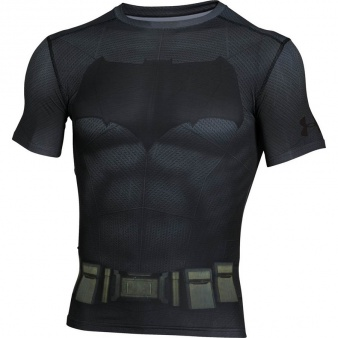 Koszulka treningowa Under Armour Batman Suit SS 1273690 040