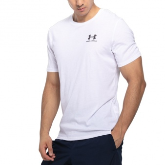 Koszulka UA Sportstyle Left Chest SS 1326799 100