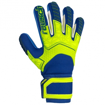 Rękawice bramkarskie Reusch Attrakt Freegel S1 Finger Support LTD 50 70 261 2199
