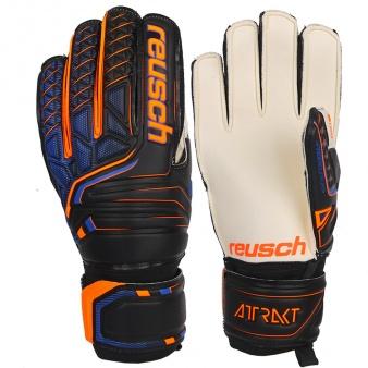 Rękawice bramkarskie Reusch Attrakt SG Finger Support 50 70 810 7783