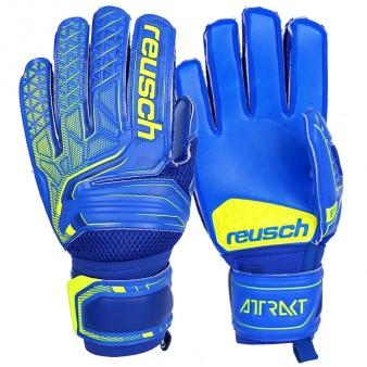 Rękawice bramkarskie Reusch Attrakt S1 Junior 50 72 215 4949