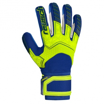 Rekawice bramkarskie Reusch Attrakt Freegel S1 LTD Junior 50 72 263 2199