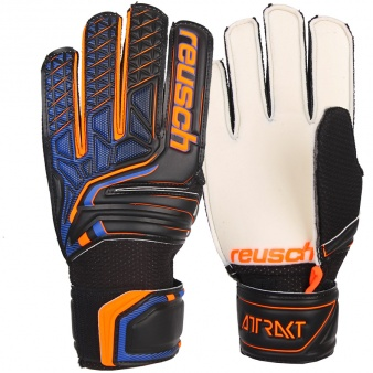 Rękawice bramkarskie Reusch Attrakt SD Open Cuff Junior 50 72 515 7783