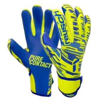 Rękawice bramkarskie Reusch Pure Contact Silver Junior 51 72 200 2199