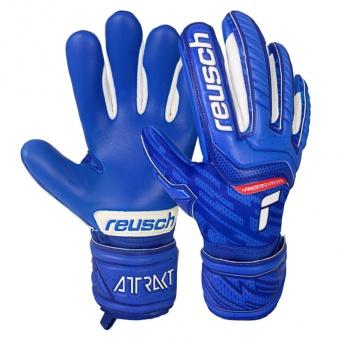Rękawice bramkarskie Reusch Attrakt Grip Evolution Finger Support Junior 51 72 830 4010