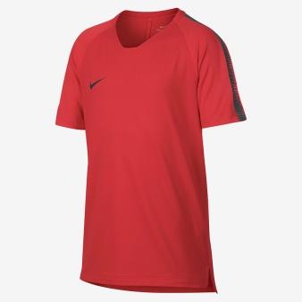 Koszulka Nike B NK BRT SQD TOP SS 18 916117 696