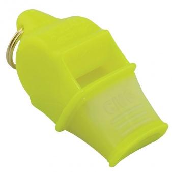 Gwizdek Fox 40 CMG Sonik Blast neonowy żółty ze sznurkiem