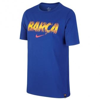 T-Shirt Nike FC Barcelona Preseason 924212 455