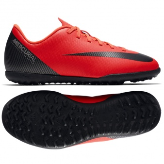 Buty Nike JR Mercurial Vaporx 12 Club GS CR7 TF AJ3106 600