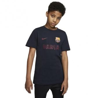 Koszulka Nike FC Barcelona B NK Tee Core Match BQ0730 475