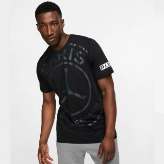 Koszulka Nike Jordan PSG SS Logo Tee BQ8384 010