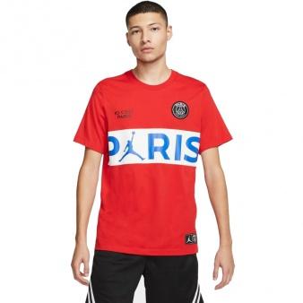 Koszulka Nike Jordan PSG SS Wordmark Tee BQ8389 657