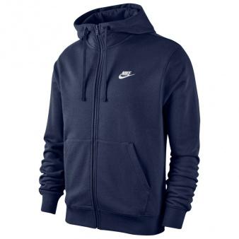 Bluza Nike Sportswear Club Men's Full-Zip Hoodie BV2648 410