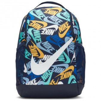 Plecak Nike Brasilia Kids' Printed Backpack CU8962 410