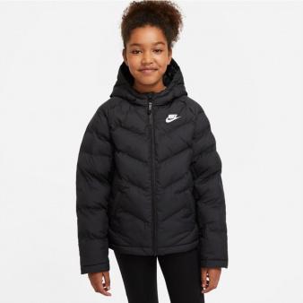 Kurtka Nike Sportswear Big Kids' Synthetic-Fill Jacket CU9157 010
