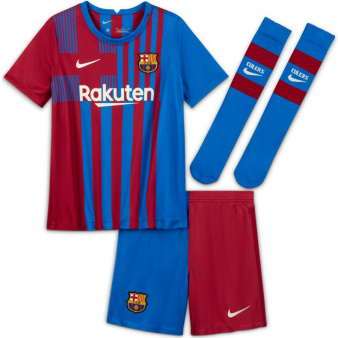 Komplet Nike FC Barcelona 2021/22 Home Kid's CV8268 428