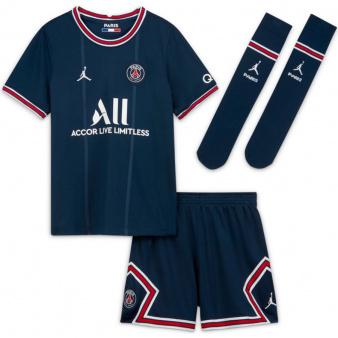 Komplet Nike PSG 2020/21 Home Little Kids' Soccer Kit CV8272 411