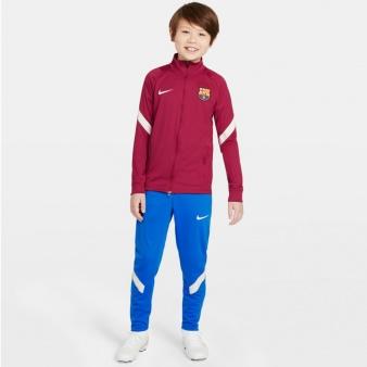 Dres Nike FC Barcelona Strike Big Kids' Soccer Tracksuit CW2173 621