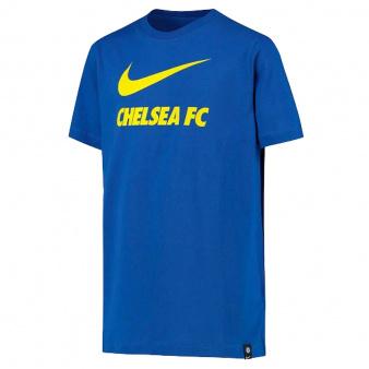 Koszulka Nike Chelsea FC Big Kids' Soccer T-Shirt CW4083 480