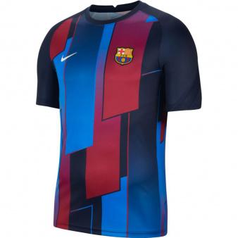 Koszulka Nike FC Barcelona Men's Pre-Match Short-Sleeve Soccer Top CW4874 452