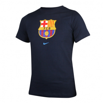 Koszulka piłkarska Nike FC Barcelona Big Kids' Soccer T-Shirt CZ5811 451