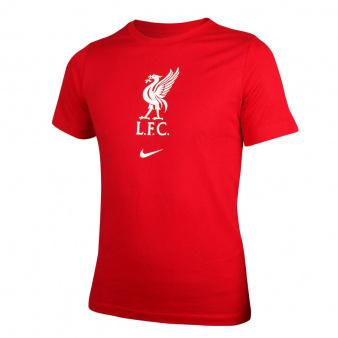 Koszulka Nike Liverpool FC Big Kids' Soccer T-Shirt CZ8249 687