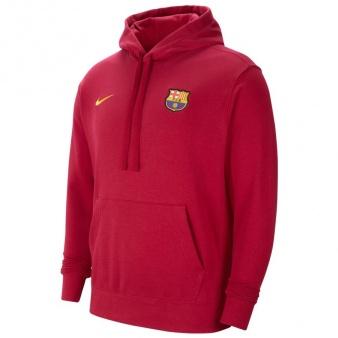 Bluza Nike FC Barcelona Men's Club Fleece Soccer Hoodie CW6045 455