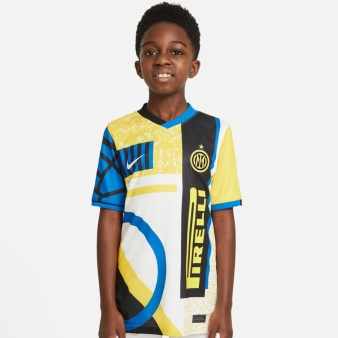 Koszulka Nike Inter Milan 2021/22 Stadium Fourth Big Kids' Soccer Jersey DD9093 100