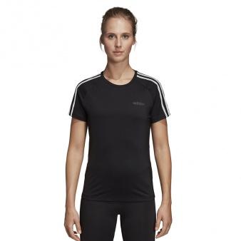 Koszulka adidas W D2M 3S Tee DU2073
