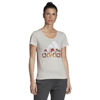 Koszulka adidas BOS Flower Tee DV2999