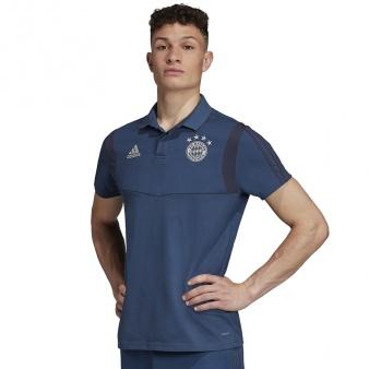 Koszulka Polo adidas FC Bayern DX9187