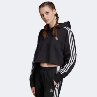 Bluza adidas Originals Cropped Hoodie ED7554