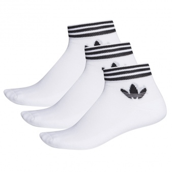 Skarpety adidas Originals Trefoil Ankle Socks 3P EE1152