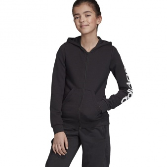 Bluza adidas YG E LIN FZ HD EH6124
