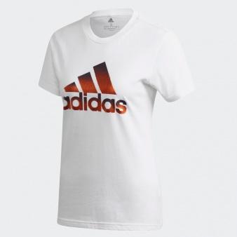 Koszulka adidas W MHG Bos Foil Tee FJ5012