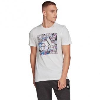 Koszulka adidas Doodle BOS FN1752