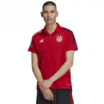 Koszulka Polo adidas FC Bayern FR5342