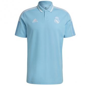 Koszulka adidas polo Real Madryt GL0052