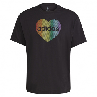 Koszulka adidas Unisex Pride Heart Graphic T-Shirt GT6816