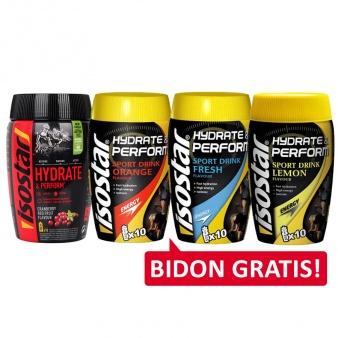 Isostar Sport Drink Konc. 400g cytryna + bidon 650ml gratis